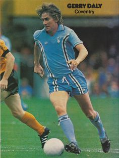 Gerry Daly Coventry City 1981