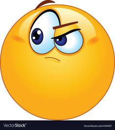Doubtful emoticon Royalty Free Vector Image - VectorStock Free Vector Images, Vector Free, Web Design, Graphic Design, Consulting Logo, Single Image, Emoticon, Logo Branding, Royalty