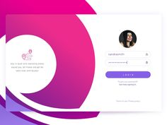 Login Page Animation. 2 Invites Giveaway by Cleveroad #Design Popular #Dribbble #shots