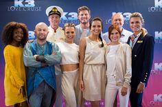 Complete cast K3 Love Cruise bekend gemaakt op filmset