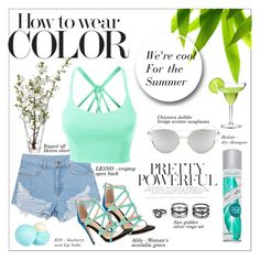 """Cool for the summer"" by kayleedool on Polyvore featuring mode, LE3NO, LSA International, ALDO, Lulu*s, Chicnova Fashion, River Island en Batiste"