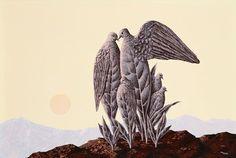 René Magritte - La Paix du Soir, 1942.