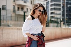 Melikenin Stil Gunlugu: Women's Designer Two Tone Round Sunglasses 8606