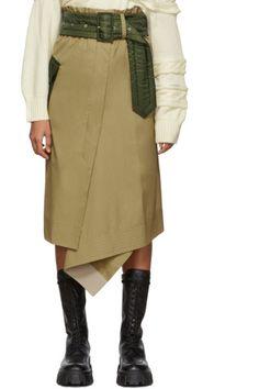 Vetements for Men Collection Pop Fashion, High Fashion, Luxury Fashion, Cotton Skirt, Cloth Bags, Streetwear Fashion, Street Wear, Man Shop, Beige