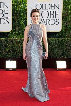 Carla Gugino-I like the detail, though I'm not crazy about the shininess of the fabric...