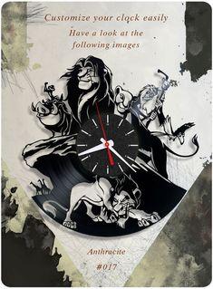 The Lion King vinyl record clock, Disney wall clock. vinyl clock, kids gift 017 #newlifeofvinyl