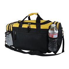 f9d7e025ea Dalix 20 Inch Sports Duffle Bag with Mesh and Valuables Pockets