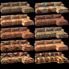 Conclusion of the Kilim set. Recolors of Mysticrain's coffee and tea set and as promised simple recolors of TheNinthWave's conversion of the loveseat, made recolorable by EarlyPleasantview. The Sims 2, Sims 1, Tea Set, Love Seat, Women's Fashion, Coffee, Furniture, Kaffee