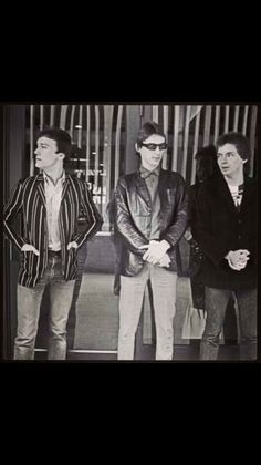""""""" I never get tired of seeing and posting pictures of these three . Music Jam, The Style Council, Paul Weller, Rock News, Teddy Boys, Skinhead, Great Bands, New Wave, Punk Rock"""