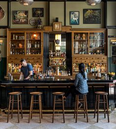 Ace Hotel New Orleans New Orleans, Louisiana indoor floor chair Bar restaurant café interior design tavern coffeehouse