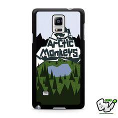 Arctic Monkeys Mountain Design Samsung Galaxy Note 4 Case