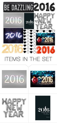 """""""Happy New Year!! 2016!"""" by britney-brit ❤ liked on Polyvore featuring art"""