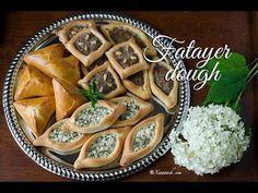 VIDEO: Fatayer Dough (Cajiin Fataa'ir) عجينة فطائر