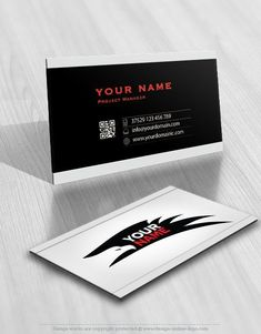 Design Wings Logo FREE Business Card Best Security Logo - Free business card templates online