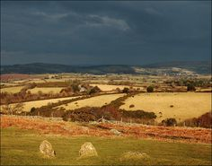 Storm clouds over Dartmoor by Baz Richardson, via Flickr