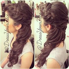 Disney princess hair   Hairstyle by dressyourface