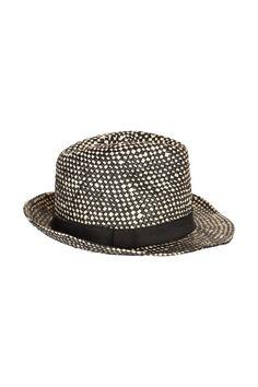 Chapeau noir Naf Naf Hats, Fashion, Black Sabbath, Moda, Hat, Fashion Styles, Fashion Illustrations, Hipster Hat