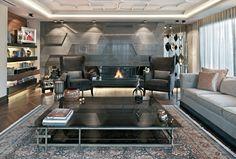 parke, parquet flooring, living room, american walnut parke  LANTANA PARKE