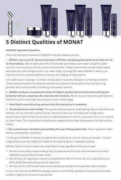 5 distinct qualities that make #MONAT a $25 million company. mymonat.com/cedarmercier
