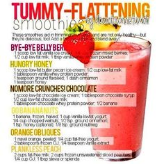 Must try healthy smoothies