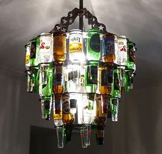 I was planning on making something just like this for my dad for his man cave!  Someone stole my idea!