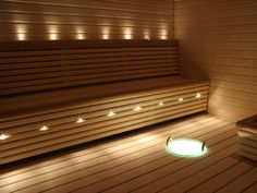 LED Sauna Lighting