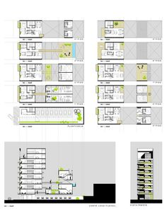 Give Your Rooms Some Spark With These Easy Design Tips – Decoration Inspired Apartment Layout, Apartment Design, Concept Architecture, Architecture Design, Two Story House Design, Architectural Floor Plans, Casa Patio, Office Plan, Student House