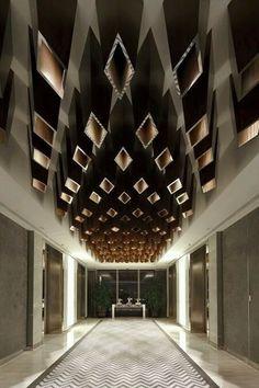 Breathtaking!  #office #design #moderndesign #ceiling   http://www.ironageoffice.com/