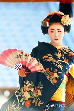 Maiko fan dance