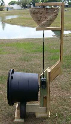 Wind powered Composter - LivingGreenAndFrugally.com