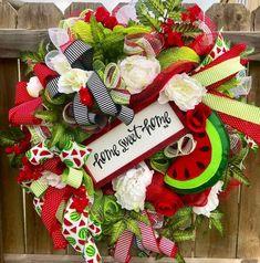 Strawberry Fields Deco Mesh Wreath Deco Mesh Wreaths Mesh Wreaths Easter Wreaths
