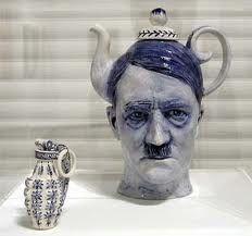 Кувшин Адольф Гитлер,  молочник - граната