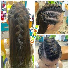 #braids #braid #girl #hair #pretty #trenzas #colorin #peluqueria #cucuta