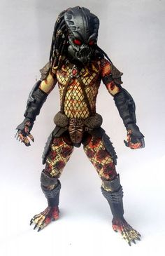 Predator Blood Eyes Custom Action Figure