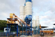 stationary concrete batching plant specification
