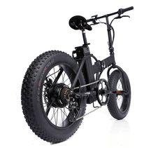 20 pouces pliant le vélo électrique avec le gros pneu photo sur…