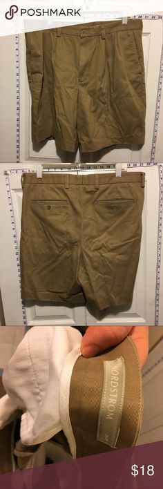 Men's Nordstrom's Khaki Shorts Great condition. No marks or stains. Add three more items to your bundle for 30% off. Nordstrom Shorts