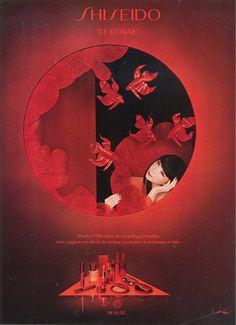Sayoko Yamaguchi 山口小夜 / SHISEIDO 1981