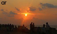 The sun never sets if u keep widening ur horizon..