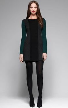 LBD with a twist of jewel tones, by THEORY.