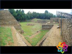 MICHOACÁN MÁGICO. ¿Conoce la zona arqueológica de Tingambato? Se encuentra ubicada muy cerca de Pátzcuaro y Uruapan. Lo interesante de esta zona arqueológica es que las construcciones presentan muros inclinados con escaleras, tipo talud-tablero, muy parecidos a la zona de Teotihuacán. Disfrute de nuestra cultura. HOTEL CABAÑAS ERENDIRA http://erendiralosazufres.com