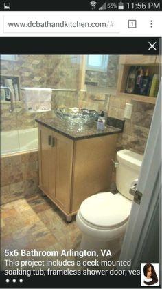 5x6 Bathroom With Tub
