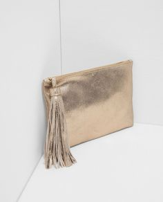 LEATHER TASSEL WALLET-ACCESSORIES-WOMAN | ZARA United States