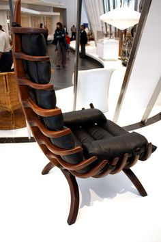 Arthur Espenet Carpenter, Rib chair, 1968