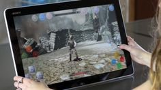 Gamers can take advantage of touch technology
