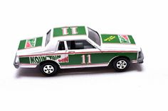 Vintage ERTL, Mountain Dew Stock Car, Daryl Waltrip, Good Ole DW, Die-Cast toy Car, 1980's  made in USA by RememberWhenToys on Etsy Vintage Hot Wheels, Vintage Cars, Vintage Toys For Sale, Farm Toys, Matchbox Cars, Mountain Dew, Good Ole, Toy Sale, Rescue Dogs