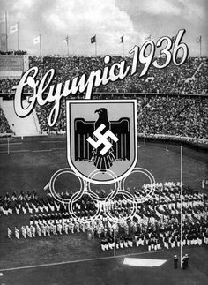 1936 Olympic games in Nazi Germany.