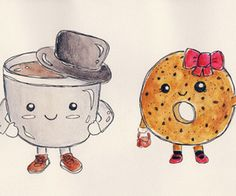 1000 Ideas About Cute Cartoon Drawings On Pinterest