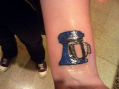 Kitchen aid tattoo