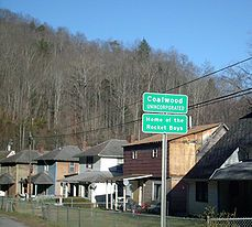 Coalwood, West Virginia, the setting of the movie October Sky.